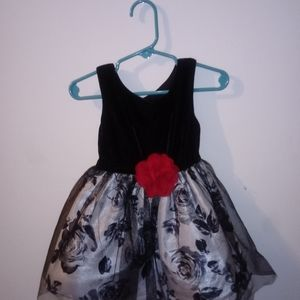 "Toddler's ""Lilti"" Black Dress"